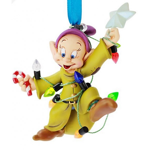 Disney Dopey Festive Hanging Christmas Ornament