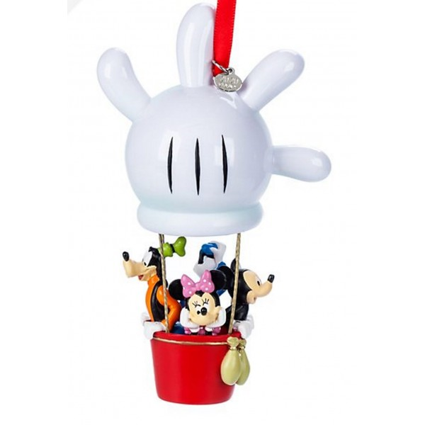 Disney Mickey and Friends Hot Air Balloon Hanging Ornament