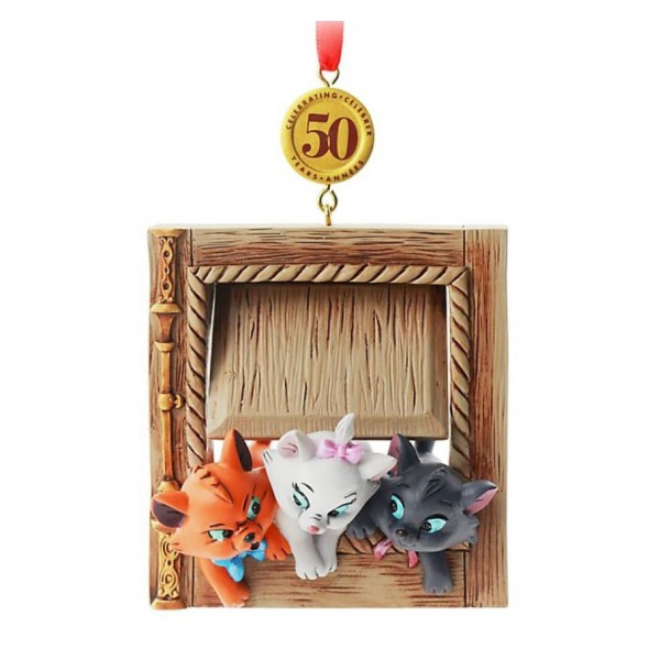 Disney The Aristocats 50th Anniversary Legacy Sketchbook Christmas Ornament