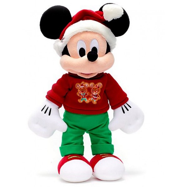 Disney Mickey Mouse Vintage Christmas Soft Toy