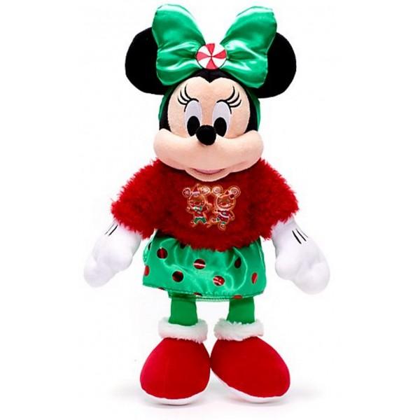 Disney Minnie Mouse Vintage Christmas Soft Toy
