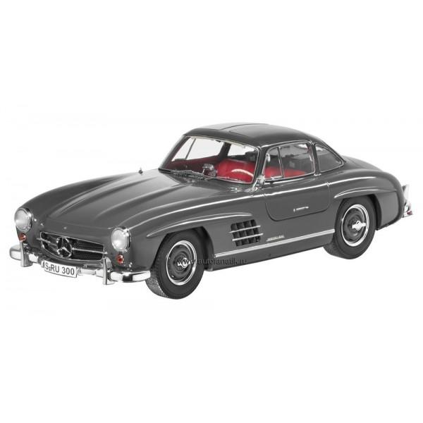 Mercedes-Benz 300 SL Gullwing 1:12 Graffiti Grey, Diecast Model (Dealer Box)