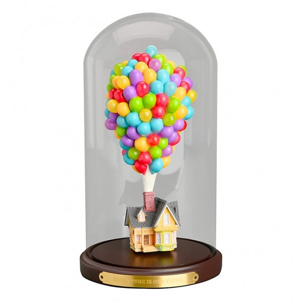 Disney Pixar Up! House under glass Dome Figure Limited Release, Disneyland Paris