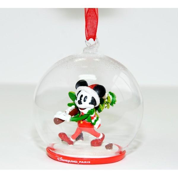 Mickey Mouse Christmas bauble Ornament, Disneyland Paris