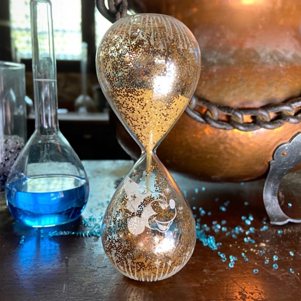 Fantasia Hourglass, Arribas Glass Collection