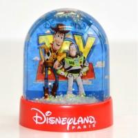 Disney Toy Story Plastic Snow Globe, Disneyland Paris