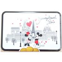 Disneyland Paris Mickey and Minnie Amour Butter & Milk Chocolate Cookies