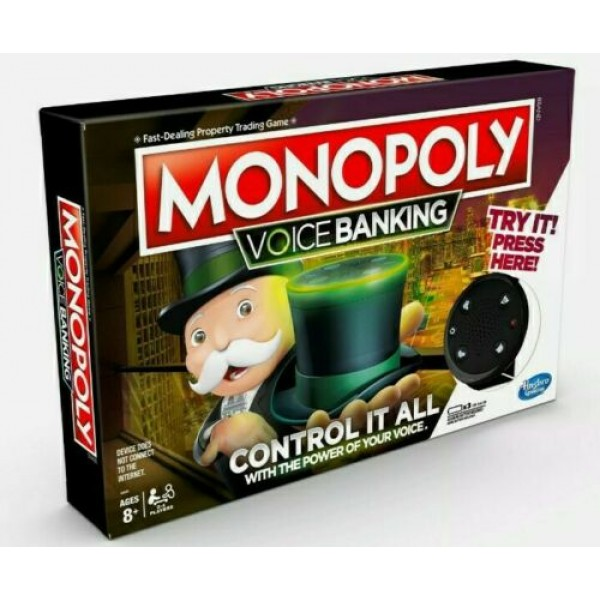 Monopoly Voice Banking Board Game – Hasbro
