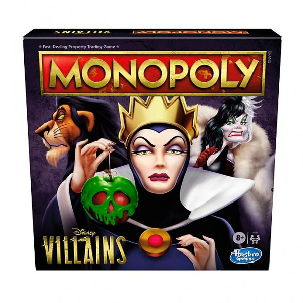 Disney Villains Monopoly - Hasbro