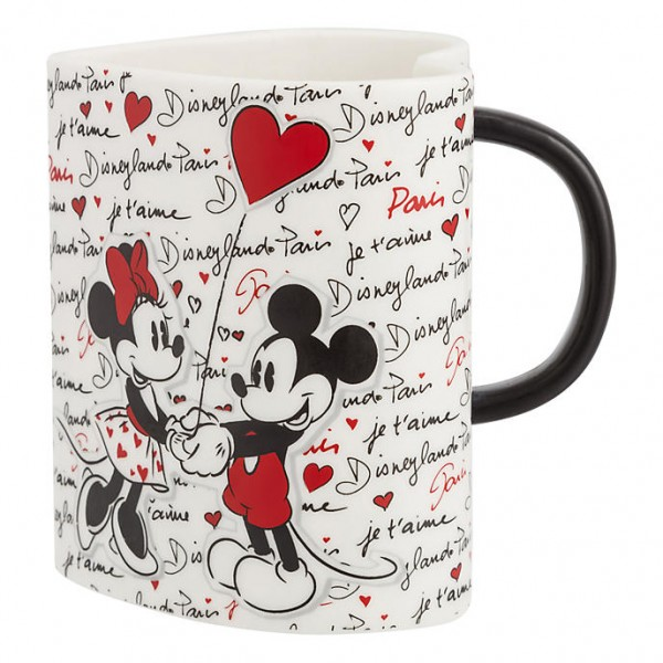 Disney Mickey and Minnie Disneyland Paris Mug