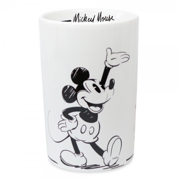 Mickey Mouse Comic Black and White utensil holder, Disneyland Paris
