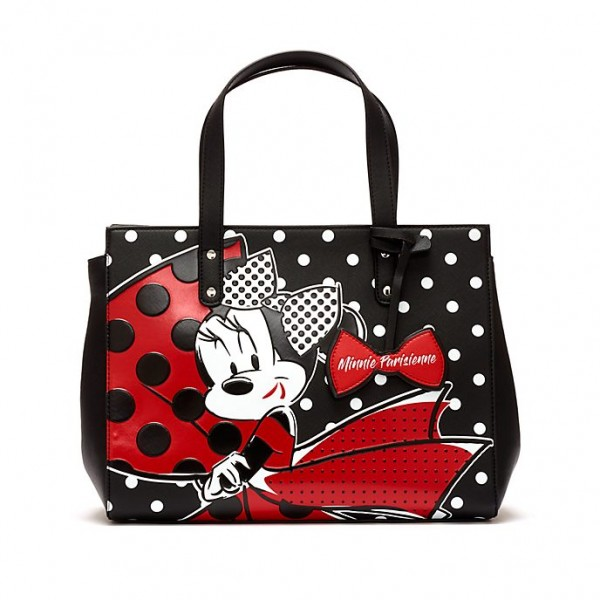 Disney Minnie Mouse Parisienne polka dot tote Bag, Disneyland Paris new Collection