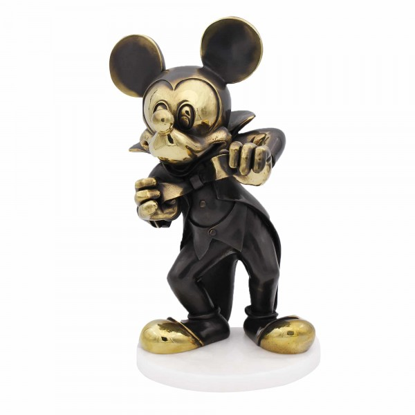 Mickey Mouse Bronze Figurine, Arribas Collection