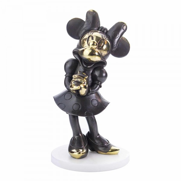 Minnie Mouse Bronze Figurine, Arribas Collection
