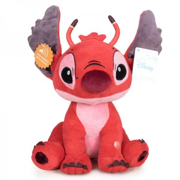 Stitch Leroy soft plush toy with sound - Disney