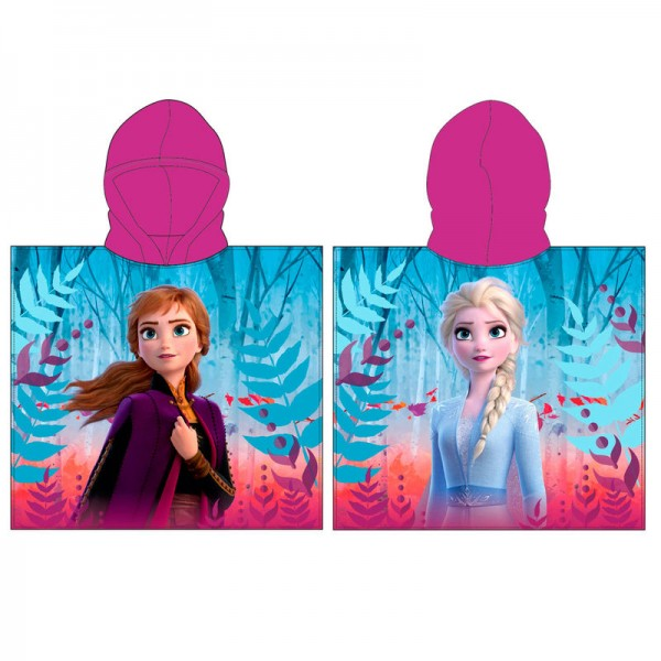 Frozen 2 Hooded Poncho Towel for kids - Disney