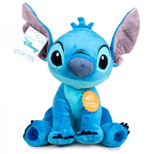 Stitch soft plush toy with sound  - Disney