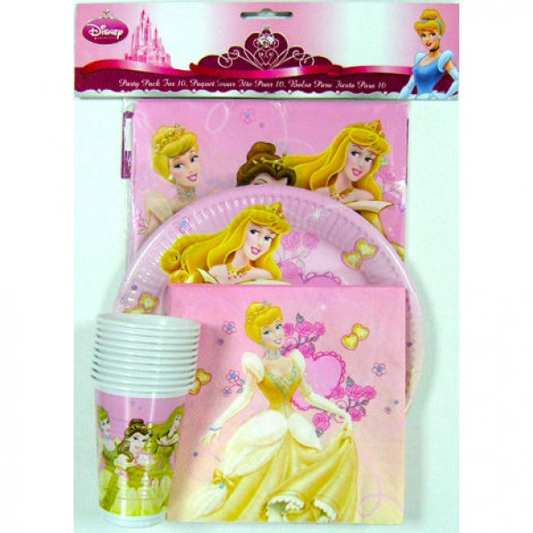 Princess Disney party pack - Disney