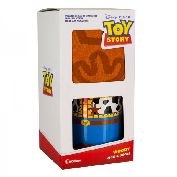Toy Story Woody Mug and Sock Set - Disney