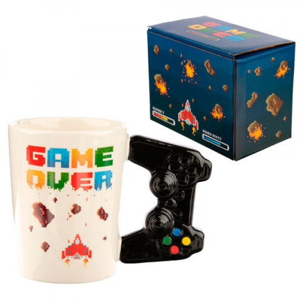 Controller Videogame shaped handle mug - Game Over