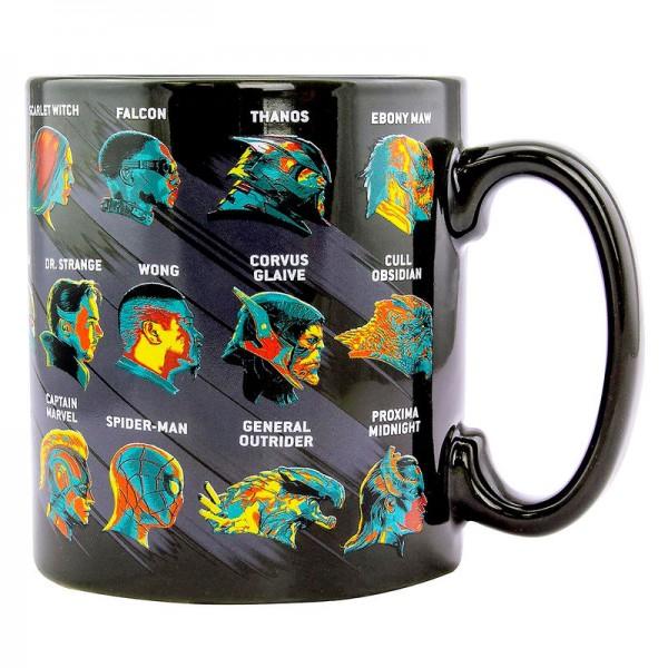 Marvel Avengers Endgame Characters XL mug
