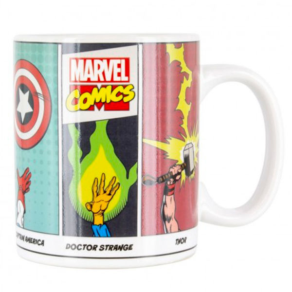 Marvel Characters Powers change mug
