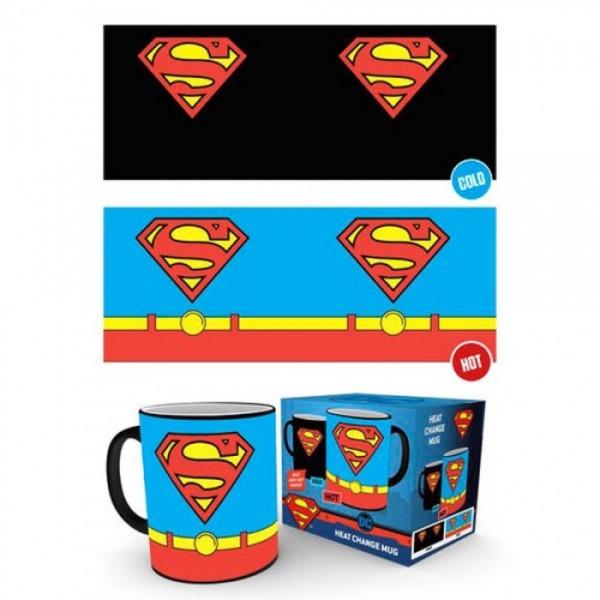 Superman Costume heat change mug - DC Comics