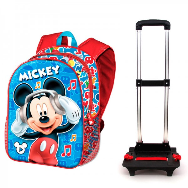 Mickey Mouse Music backpack and Trolley -  Karactermania