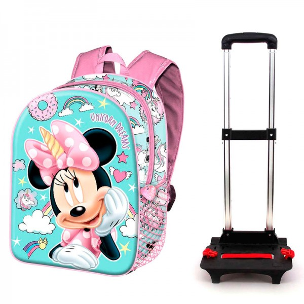 Minnie Mouse Unicorn backpack and Trolley - Karactermania