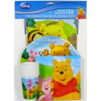 Winnie the Pooh Disney party pack