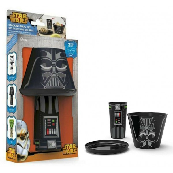 Star Wars Darth Vader Stacked-up breakfast set, Disney