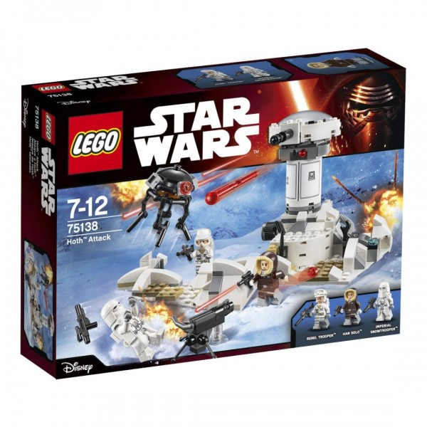 "Lego 75138 ""Hoth attack"" Star Wars Action Figure"