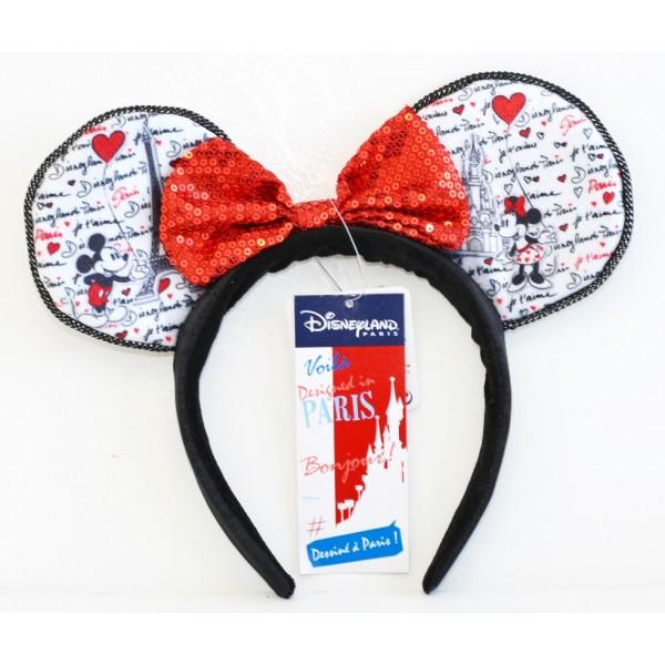 Disneyland Paris Mickey and Minnie Headband ears