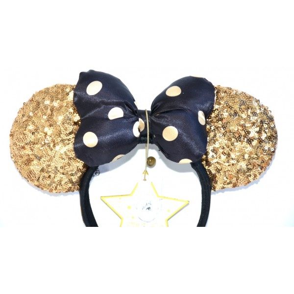 Disneyland Paris 25 Anniversary Minnie Gold ears