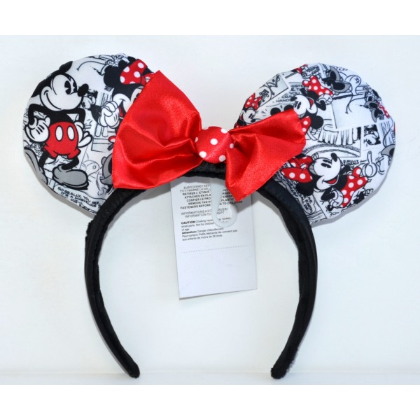 Disney Minnie Mouse Comic Strip ears