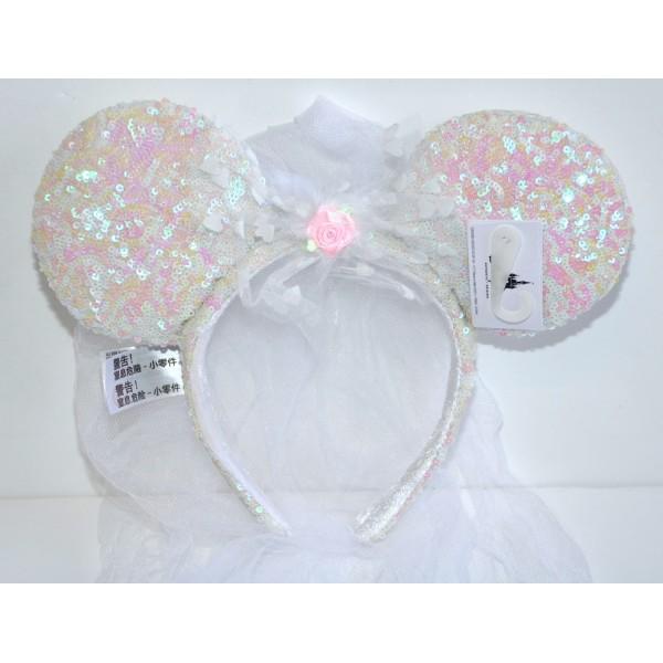 Disney Minnie Mouse Bridal Bride Ears