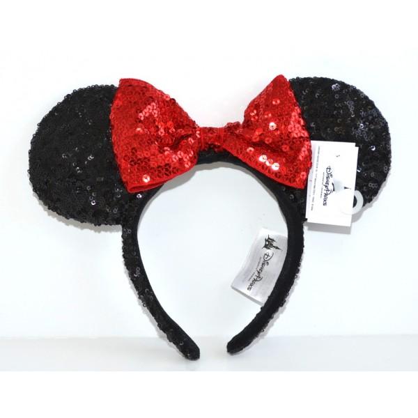 Minnie Mouse Ears Headband – Sequined