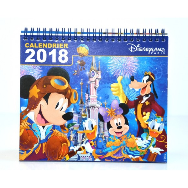 Disneyland Paris 2018 Desk Calendar