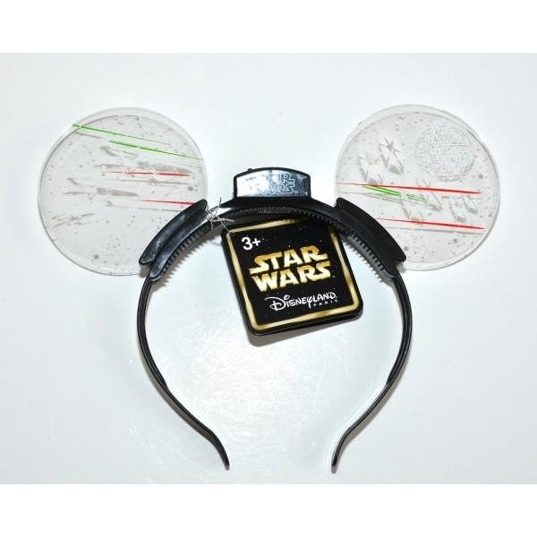 Disney Headband Hat - Star Wars Death Star Light-up Ears