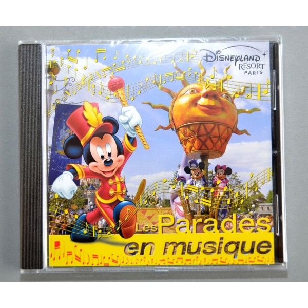 Disneyland Resort Paris Les Parades en Musique CD