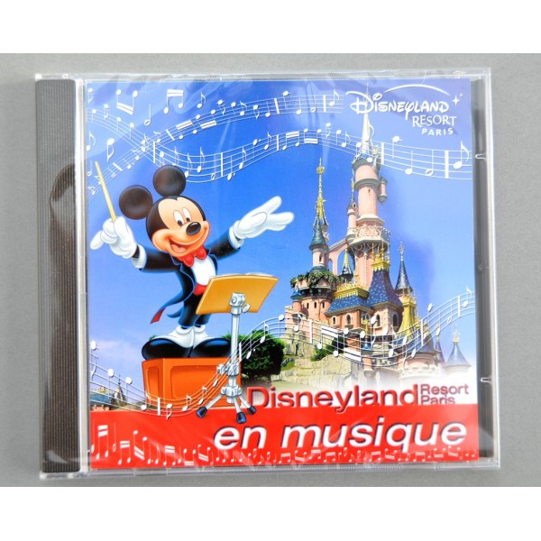 Disneyland Resort Paris en musique CD