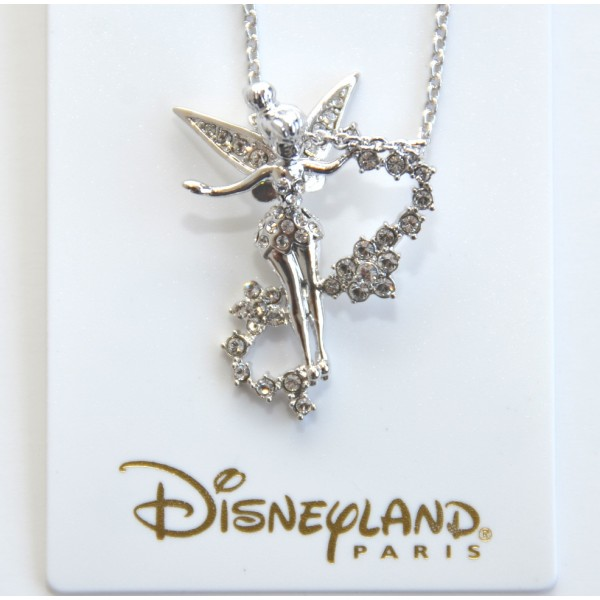 Disney Tinker Bell Necklace whit Swarovski Crystal by Arribas
