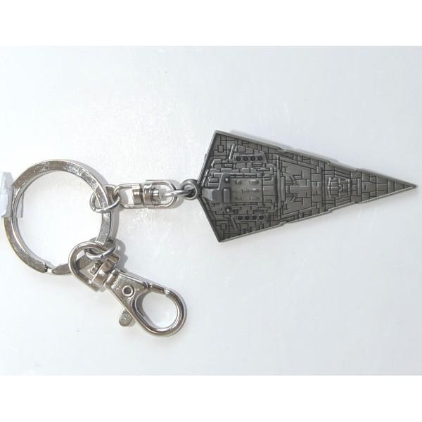 Fashion Silver Star Wars Star Destroyer Metal Key Ring