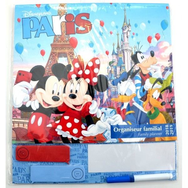Family Planner 2018-2019, Disneyland Paris