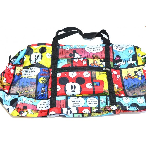 Disneyland Paris Comic Foldable Travel Storage Bag