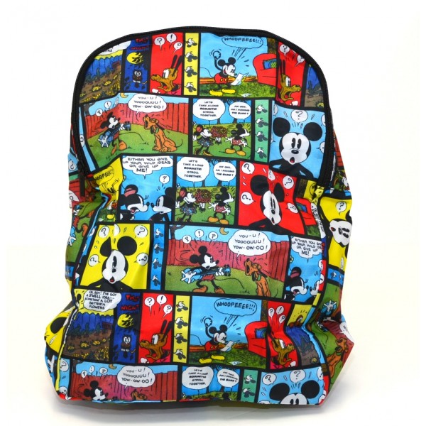 Disneyland Paris Mickey Mouse Foldaway Backpack
