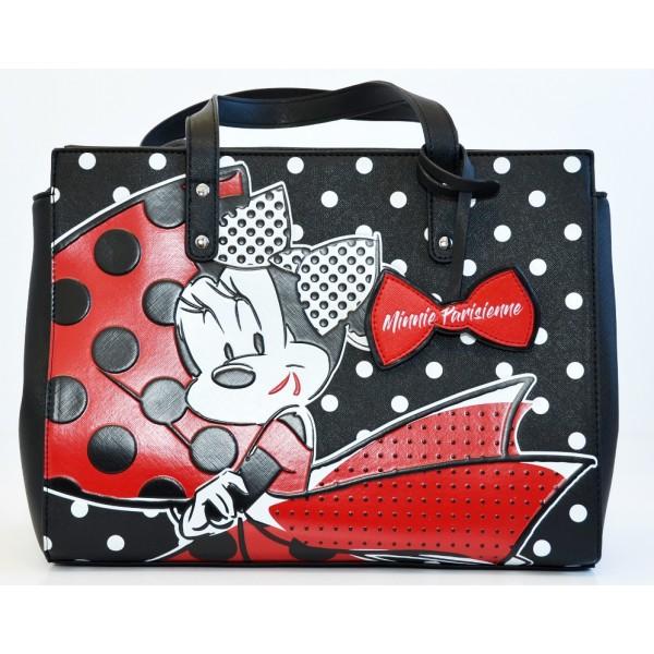 Disney Minnie Mouse Parisienne polka dot tote Bag, Disneyland Paris new Collection