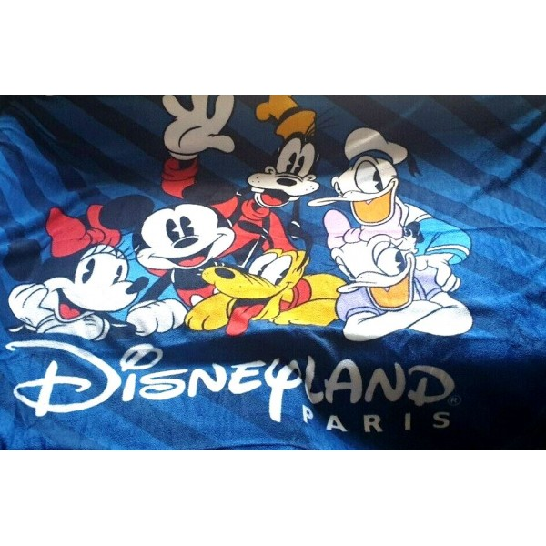 Disneyland Paris Mickey and friends Fleece Blanket