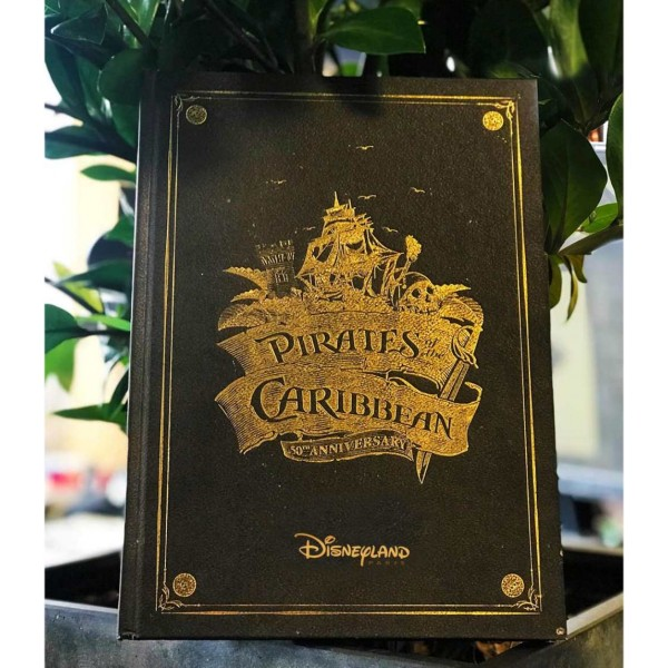 Disneyland Paris pirates of the caribbean 50th anniversary book