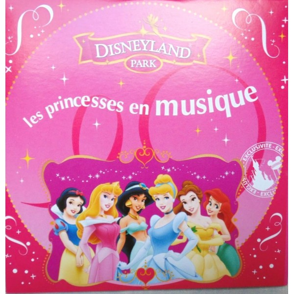 Princess Music CD, Disneyland Paris